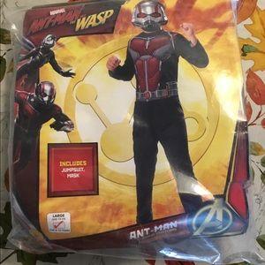 Antman costume size large 12/14 Halloween